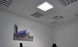 Presvetlenie kancelárií šiestiimi svetlovodmi Sunway